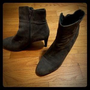 Grey booties